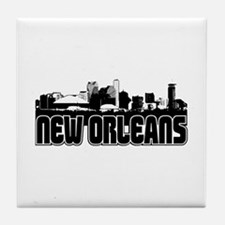 New Orleans Skyline Tile Coaster