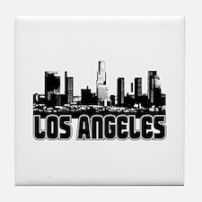 Los Angeles Skyline Tile Coaster