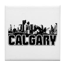 Calgary Skyline Tile Coaster