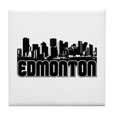 Edmonton Skyline Tile Coaster