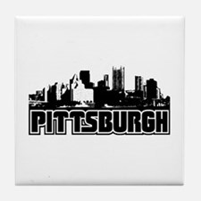 Pittsburgh Skyline Tile Coaster