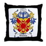 Nimmo Coat of Arms Throw Pillow
