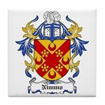 Nimmo Coat of Arms Tile Coaster