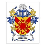 Nimmo Coat of Arms Small Poster