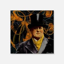 """Aleister Crowley Square Sticker 3"""" x 3"""""""