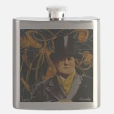 Aleister Crowley Flask
