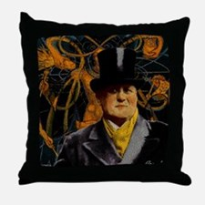 Aleister Crowley Throw Pillow