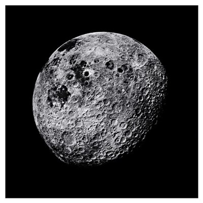 Far side of the Moon Canvas Art