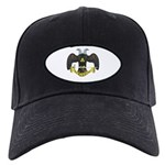 Masonic Scottish Rite 32nd Degree Black Cap