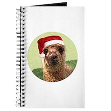 Little Hannah Alpaca Christmas Journal