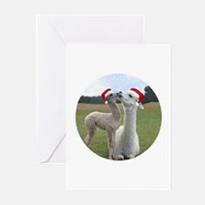 Mother and Baby Alpaca Greeting Cards (Pk of 10)