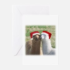 Alpaca Friends at Christmas