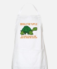 behold the turtle.png Apron