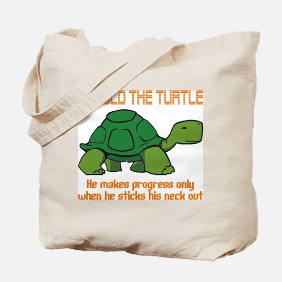 behold the turtle.png Tote Bag