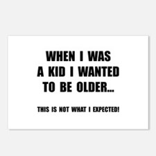 Wanted To Be Older Postcards (Package of 8)