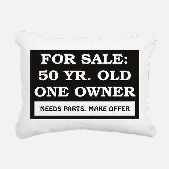 For Sale 50 Year Old Bir Rectangular Canvas Pillow