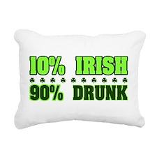 2-10_percent_irish.png Rectangular Canvas Pillow