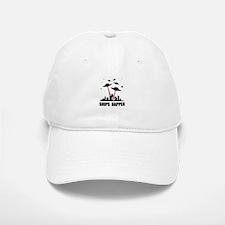 UFO Ships Happen Baseball Baseball Cap