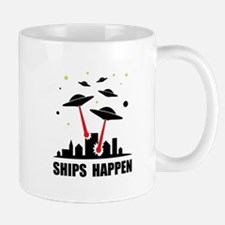 UFO Ships Happen Mug