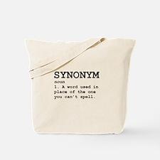 Synonym Definition Tote Bag