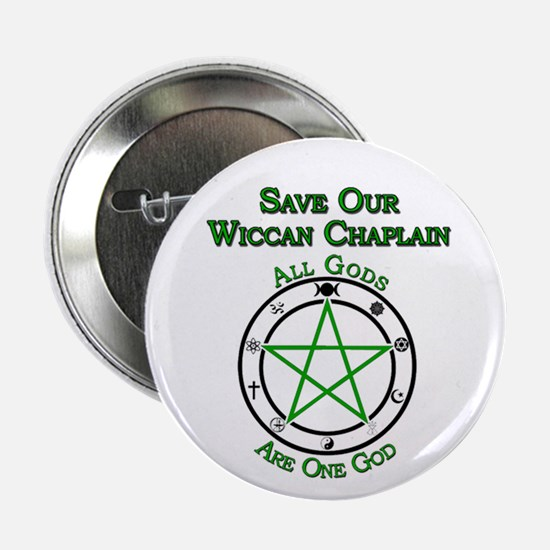 Save Our Wiccan Chaplain Button