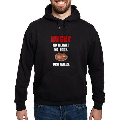 Rugby Balls Hoodie (dark)