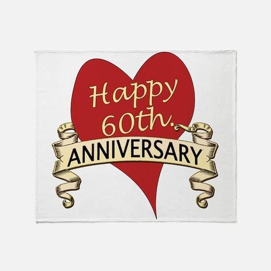 Cute Wedding anniversaries Throw Blanket