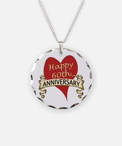 Funny 60th wedding anniversary Necklace