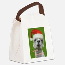Cuddle Me Christmas Canvas Lunch Bag