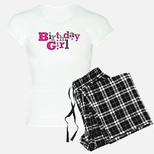 Pink Birthday Girl Star Pajamas