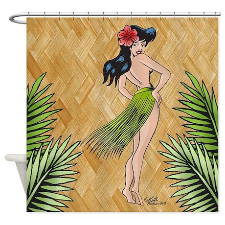 Island girl-shower curtian--001 copy.jpg Shower Cu
