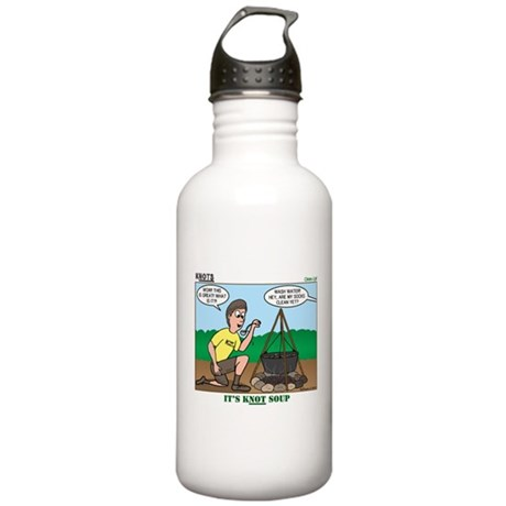 KNOTS Soup Stainless Water Bottle 1.0L