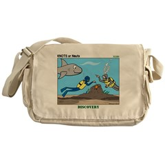 SCUBA Surprise Messenger Bag