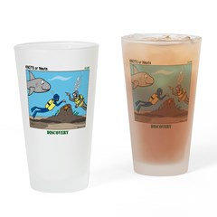 SCUBA Surprise Drinking Glass