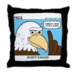 Scout Eagles Throw Pillow