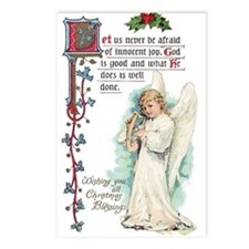 Vintage Angel Postcards (Package of 8)