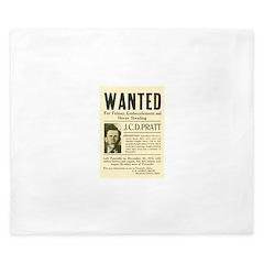 J. C. D. Pratt Wanted King Duvet