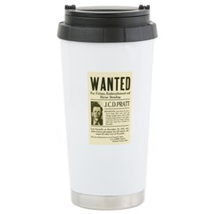J. C. D. Pratt Wanted Travel Mug
