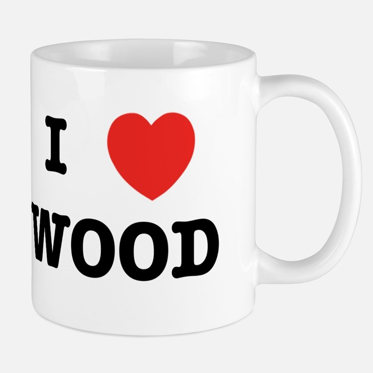 I Heart Wood Mug
