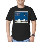 Flying High Men's Fitted T-Shirt (dark)