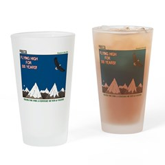 Flying High Drinking Glass