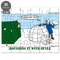 Winter Camping Puzzle