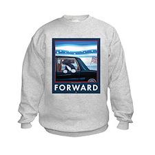 Forward with Bo, the first dog. Sweatshirt