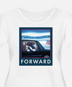 Forward with Bo, the first dog. T-Shirt