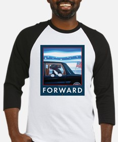 Forward with Bo, the first dog. Baseball Jersey