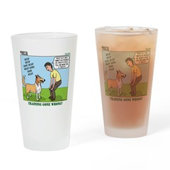 Dog Care Drinking Glass