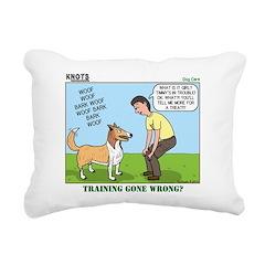 Dog Care Rectangular Canvas Pillow