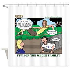Family Fun Shower Curtain