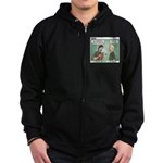 KNOTS Review Board Zip Hoodie (dark)