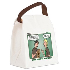 KNOTS Review Board Canvas Lunch Bag